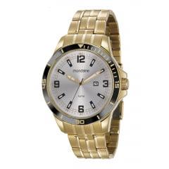 Relógio Mascuino Mondaine Dourado 78763GPMVDA2