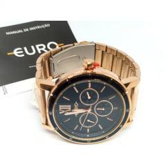 Relógio Euro Rosê Feminino EU6P29AHH/4A