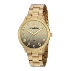 Relógio Feminino Mondaine Dourado 53785LPMVDE1