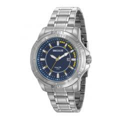 Relógio Prata Seculus Masculino 20620G0SVNA1
