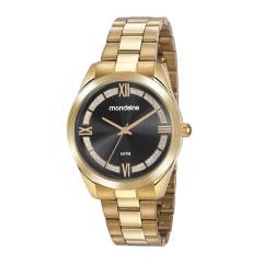 Relógio Mondaine Feminino Dourado 53816LPMVDE3
