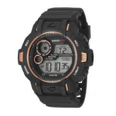 Relógio Speedo Masculino Esportivo Preto 11010G0EVNP2