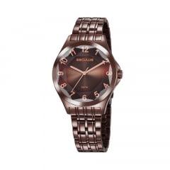 Relógio Feminino Chocolate Seculus 23602LPSVMS6