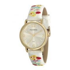 Relógio Feminino Mondaine de Couro 99214LPMVDH1