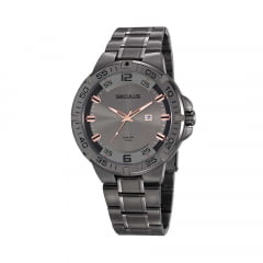 Relógio Seculus Grafite Masculino 20796GPSVSA1