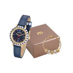 Kit Relógio Feminino Mondaine + Pulseira 89004LPMVDH1K1