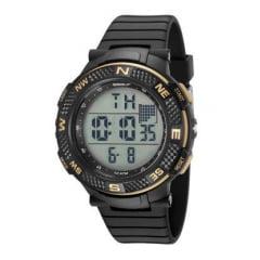 Relógio Speedo Masculino Esportivo Preto 81195G0EVNP1