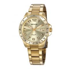 Relógio Seculus Masculino Dourado 20854GPSVDA2
