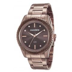 Relógio Feminino Chocolate Mondaine 76568LPMVME6