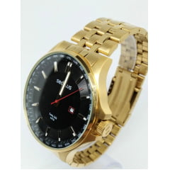 Relógio Dourado Seculus Dourado 77034GPSVDA1