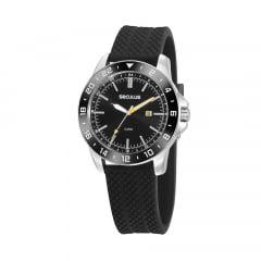 Relógio Seculus Masculino Pulseira de Silicone 20813G0SVNU2