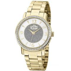 Relógio Feminino Dourado Champion CH24599H