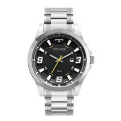 Relógio Technos Masculino Prata 2115MXR/1P