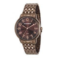 Relógio Chocolate Feminino Mondaine 53673LPMVME2