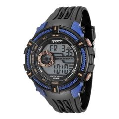 Relógio Speedo Masculino Esportivo Preto 80591G0EVNP3
