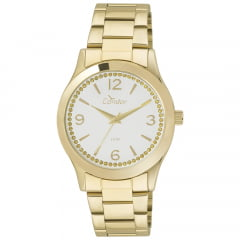 Relógio Condor Feminino Dourado CO2039AC/4K