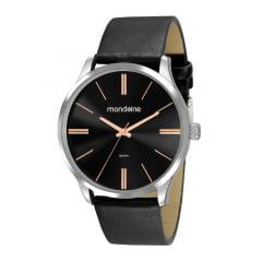 Relógio Mondaine Masculino Couro 53795G0MVNH2