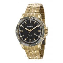 Relógio Mascuino Mondaine Dourado 78762GPMVDA2