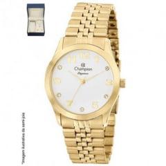 Relógio Champion Feminino + colar e brinco CN28633W