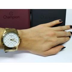 Relógio Feminino Dourado Champion CN27974H