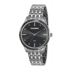 Relógio Mondaine Feminino Black 53815LPMVSE2
