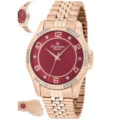 Relógio Champion Feminino Rosê CN25805I