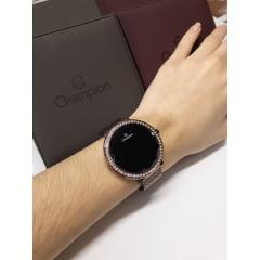 Relógio Champion Digital com Strass Chocolate CH48037R