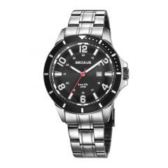 Relógio Prata Masculino Seculus 28987G0SVNA1