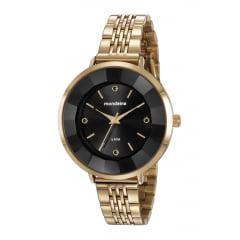 Relógio Mondaine Feminino Dourado 76718LPMVDE3
