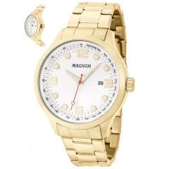Relógio Magnum Masculino Dourado MA33013H