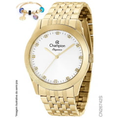 Relógio Champion Feminino + pulseira CN26742S