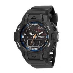 Relógio Speedo Masculino Esportivo Preto 11014G0EVNP2