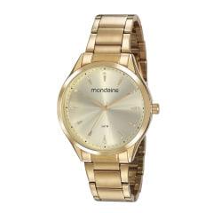 Relógio Mondaine Feminino Dourado 53817LPMVDE1