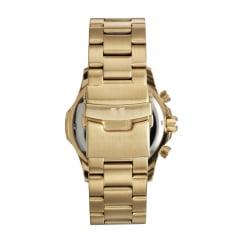 Relógio Seculus Cronógrafo Masculino Dourado 13028GPSVDA1