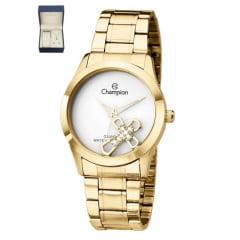 Relógio Champion Feminino + Colar e Brinco CH25909W