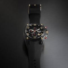 Relógio Seculus Cronógrafo Pulseira em Silicone 28207GPSVPU3