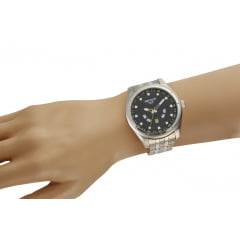 Relógio Prata Masculino Seculus