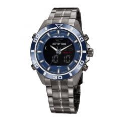 Relógio Seculus Masculino Prata 77055GPSVSA2