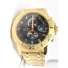 Relógio Technos Skymaster Masculino Dourado OS11ED/4P