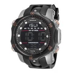 Relógio Speedo Masculino Esportivo Prata 11005G0EVNP5