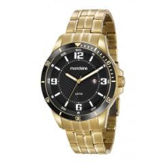 Relógio Masculino Mondaine Dourado 78759GPMVDA2