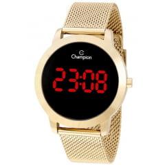 Relógio Champion Digital Feminino Dourado CH40106H