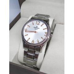 Relógio Champion Feminino Prata CN25832Q