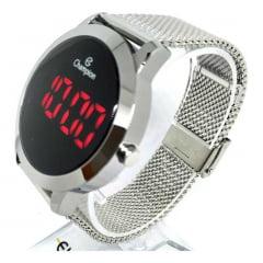 Relógio Champion Digital Feminino Prata