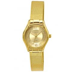 Relógio Condor Feminino Dourado CO2035KRO/4D