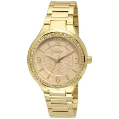 Relógio Condor Feminino Dourado CO2035KTH/4X