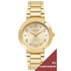 Relógio Condor Feminino Dourado CO2035MTR/K4D
