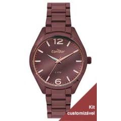Relógio Condor Feminino Vinho