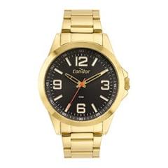 Relógio Condor Masculino Dourado CO2035MXF/4P