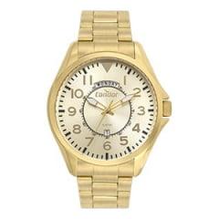 Relógio Condor Masculino Dourado COVJ45AA/4D